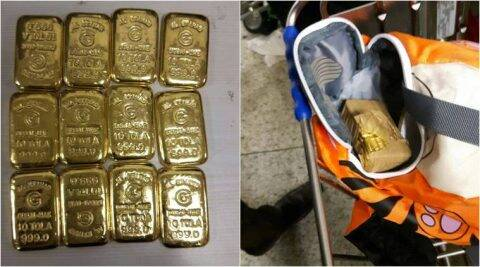 AIU seizes gold, contraband worth over Rs 2 crore at Mumbaiairport