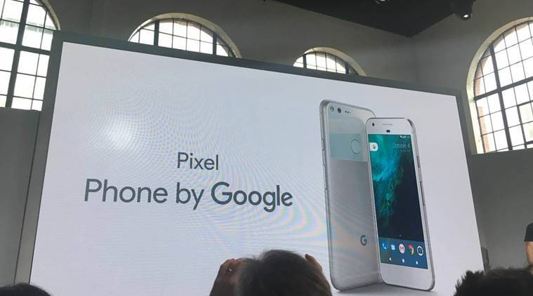 Google Pixel, Google, Google product launch, Apple iPhone, iPhone, Pixel phone, Google Apple, Google phone, Android, Gadgets, Technology news, Tech news, Indian express