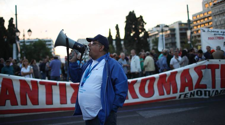 greece bailout, Greek pensioners, greece, IMF, greece pension cuts, Greece retirees, Greek retirees, news, latest news, Greece protest, world news, Greece news, international news