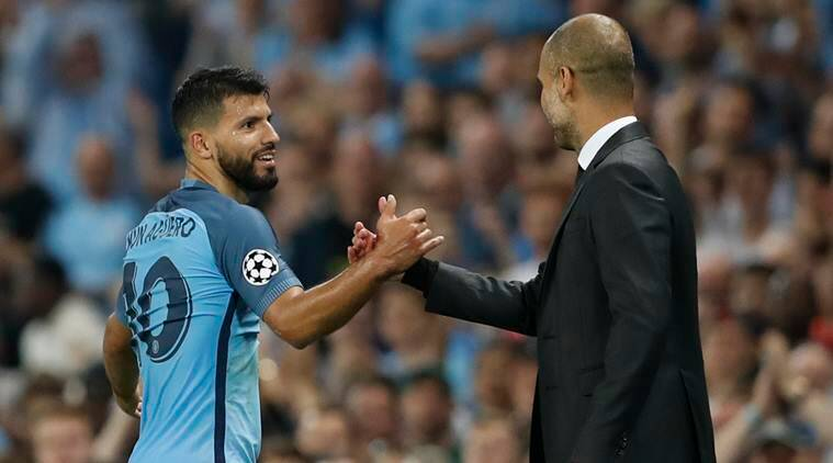 Image result for aguero pep