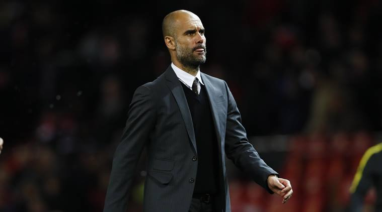pep guardiola, guardiola, manchester city, manchester city vs manchester united, city vs united, manchester derby, football news, sports news