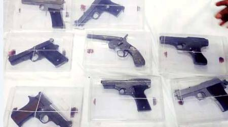 Shamli: Police recover over 700 firearms, one held
