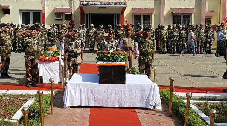 pakistan, pakistan ceasefire violations, bsf, bsf jawan , gurnam singh, bsf gurnam singh, gurnam singh death, Additional Director General of Border Security Force Arun Kumar , bsf warns pakistan , india news,latest news