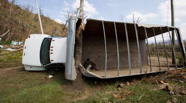 hurricane matthew, haiti hurricane matthew, hurricane matthew devastation, hurricane matthew haiti aid, aid for haiti, haiti death toll, world news, indian express,