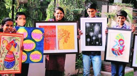 Art Exhibition by NGO Hamari Kaksha: Buoyed by first year's response, kids to put up calendars, cards too on display this time