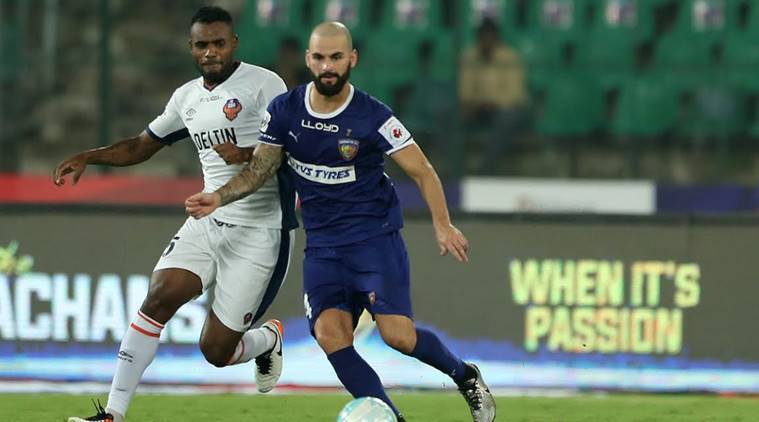 isl, indian super league, chennaiyin fc, fc goa, chennaiyin vs goa, isl results, indian super league results, isl table, is standings, is matches, isl fixtures, football news, sports news