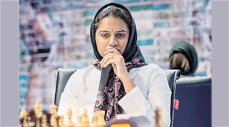 world chess championship, world chess championship hijab, Iran women world chess championship, wearing hijab in public, hijab debate, Nazi Paikidze, sports news