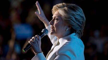 Hillary Clinton, clinton, private email server, hillary clinton email leak, hillary clinton fbi investigation, hillary clinton fbi investigation, hillary clinton controversy, world news, indian express