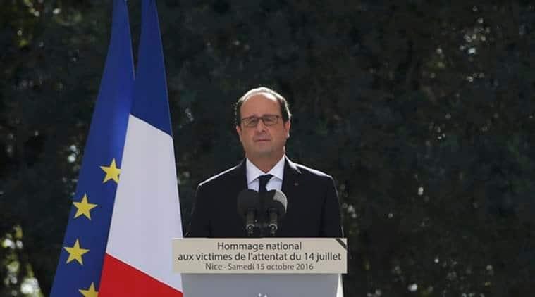 Francois Hollande, hollande, Nice, nice attack, hollande invokes unity, call for unity, nice jihadist truck attack, france news, world news, indian express