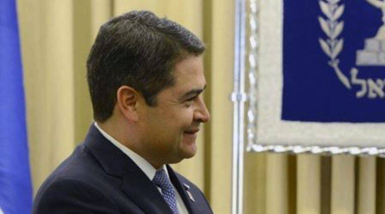 Honduras, Honduras president, Juan Orlando Hernandez, Honduras president assassination bid, US envoy assassination bid, Honduras drug cartel, Honduras news, world news, latest news, Indian express