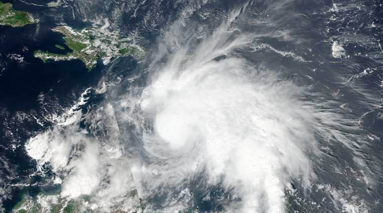 Tropical Storm Matthew, which has since gained hurricane strength, is seen in an image captured by NASA-NOAA's Suomi NPP satellite at 1pm ET (17:00 GMT) September 29, 2016.  NOAA/NASA Goddard MODIS Rapid Response Team/Handout via REUTERS   THIS IMAGE HAS BEEN SUPPLIED BY A THIRD PARTY. IT IS DISTRIBUTED, EXACTLY AS RECEIVED BY REUTERS, AS A SERVICE TO CLIENTS. FOR EDITORIAL USE ONLY. NOT FOR SALE FOR MARKETING OR ADVERTISING CAMPAIGNS