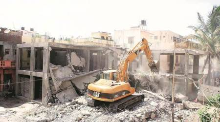Illegal construction rampant under local gangs backed by political parties:Locals