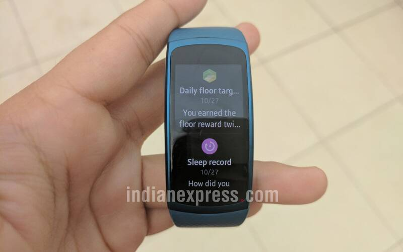 Samsung, Samsung gear Fit 2, Gear Fit 2 review, Samsung gear Fit 2 review, Samsung gear Fit 2 price, Samsung gear Fit 2 specifications, Samsung gear Fit 2 features, wearables, fitness band, smartphones, technology, technology news