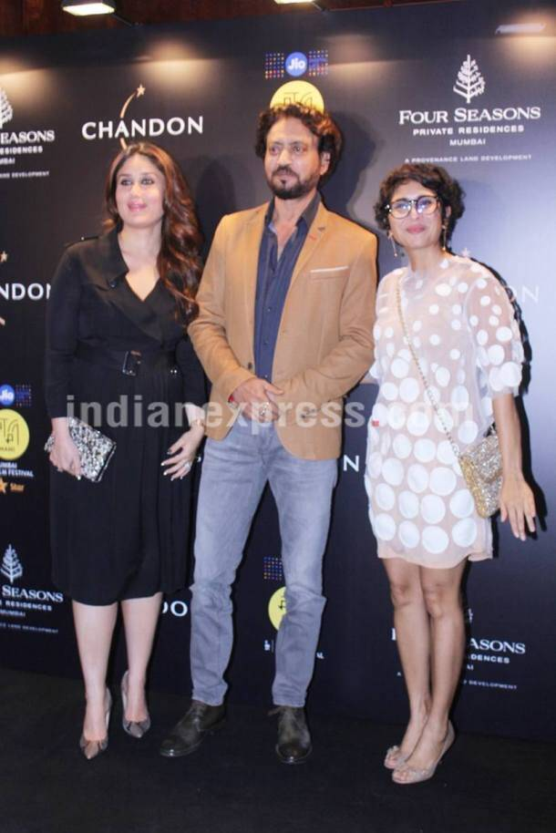 Kareena Kapoor, kiran rao, irrfan khan, mami, mami festival, Kareena Kapoor mami, mami Kareena Kapoor, Kareena Kapoor images, Kareena Kapoor pics, Kareena Kapoor photos, Kareena Kapoor mami pics, kiran rao mami, entertainment news, indian express, indian express new