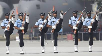 IAF Day celebrations: Indian Air Force displays power and preparedness on 84th anniversary