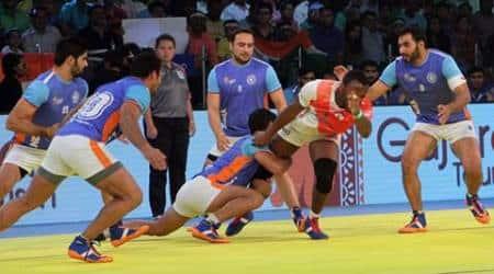 India Kabaddi, Indian Kabaddi team, Anup Kumar, India Kabaddi, Masayuki Shimokawa, Japan captain Masayuki Shimokawa, Kabaddi World Cup, Kabaddi World Cup 2016, Sports