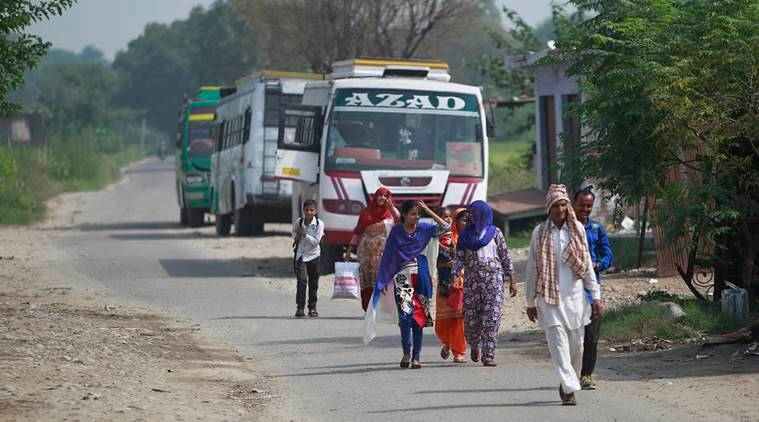 jammu, jammu villages, jammu border villages, jammu situation, jammu normalcy, kashmir, kashmir displacement, jammu displacement