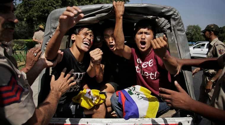 Brics Summit 2016,Goa Brics Summit, China Brics, China tibet, tibet china protest, tibet protest, Xi Jinping,Brics Summit, news, latest news, India news, national news, world news, international news, China news