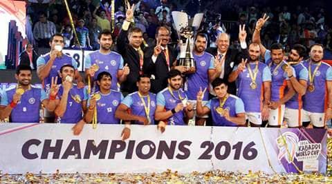 India vs Iran, india vs Iran final, India vs Iran final photos, India Iran photos, India Kabaddi World Cup 2016, Kabaddi World Cup 2016, Kbaddi World Cup final photos, Kabaddi final photos, kabaddi photos, Kabaddi