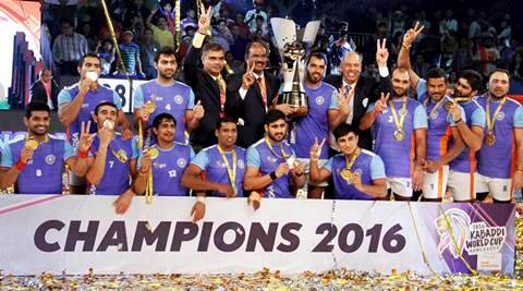India make it three-in-three at Kabaddi World Cup