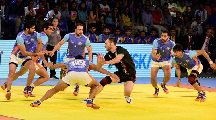 India - Iran final match of ''Kabaddi World Cup 2016''