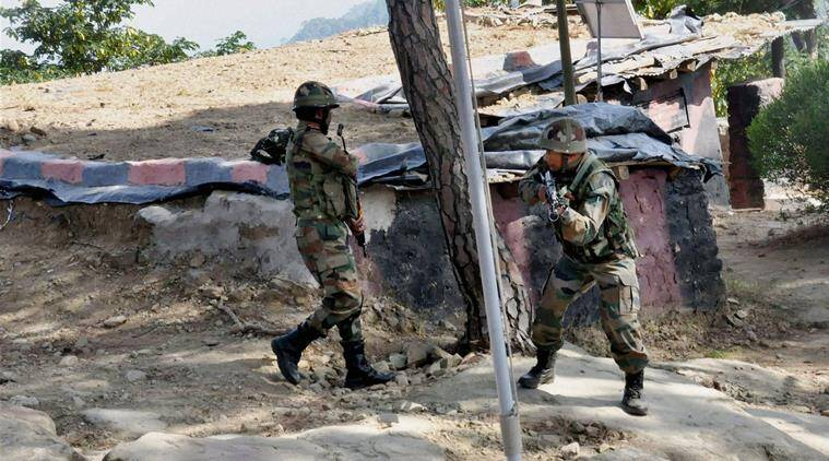 indian army, army, pakistan, ceasefire, ceasefire violation, pakistan ceasefire violation, Pakistani troops, Nowshera ceasefire violation, loc, pok, kashmir, loc ceasefire violation, india news