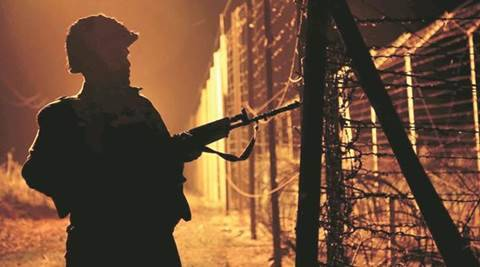 jammu, jammu kashmir, pakistan, Pakistan ceasefire violation, RS Pura ceasefire violation, paksitan mortar shelling, india news, indian express
