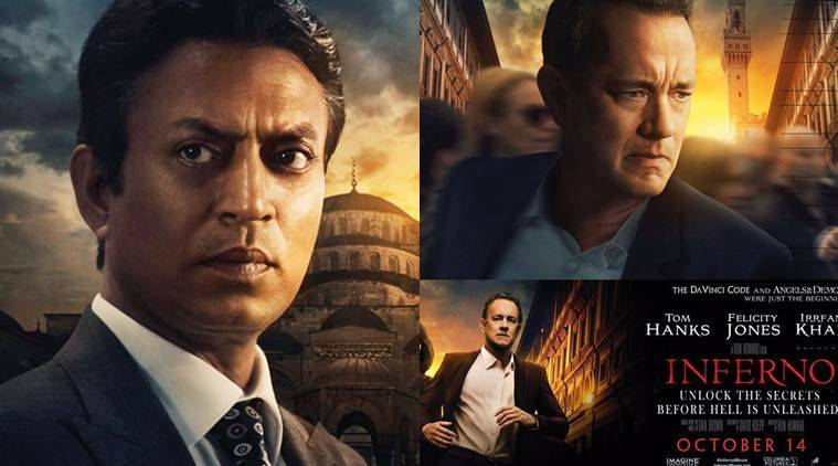 Inferno movie review, Inferno movie, Inferno, Inferno movie, Tom Hanks, Irrfan Khan, Tom Hanks Irrfan Khan inferno