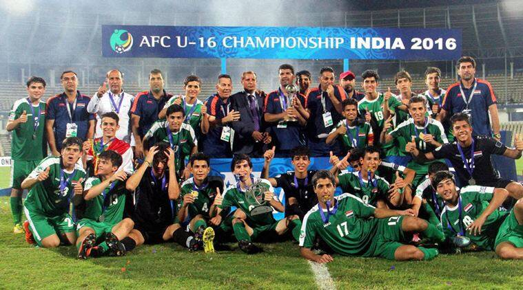 Iraq won the AFC U-16 Championship
