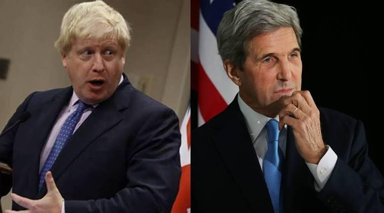 John Kerry, Boris johnson, US UK, US England, US Britain, John Kerry Boris Johnson, news, latest news, US news, UK news, world news, international news