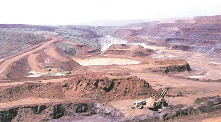 Bellary mines, Iron ore, steel sector, Karnataka's seven iron ore mines, premium rate, karnataka iron ore, limestone mines, gold mines, diamond mines, mine auction, indian express news, business news