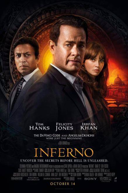 inferno, tom hanks, irrfan khan, irrfan khan inferno, inferno irrfan khan, inferno tom hanks, tom hanks inferno, inferno dan brown, dan brown inferno, inferno trailer, inferno irrfan, irrfan inferno, inferno book ,inferno movie, inferno cast, inferno latest news, inferno latest updates, irrfan khan latest news, irrfan khan latest updates, entertainment news, indian express, indian express news