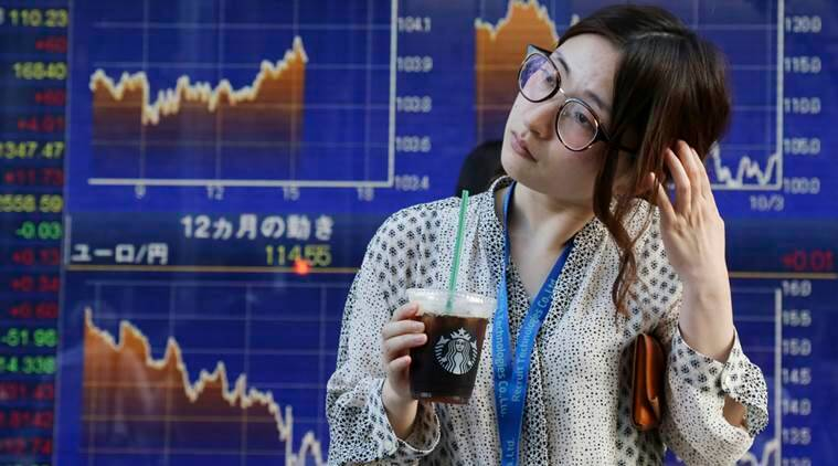 asian shares, asia share market, asia stock, asian share china economy, china economy asia, world business news, indian express news