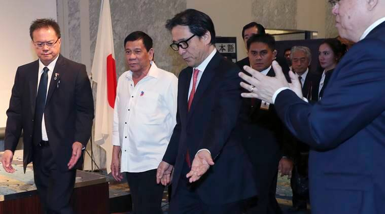 China-philippines, china, philippines, china-philippines ties, bilateral ties, improved ties, US, United States, john kirby, no threats, world news, indian express