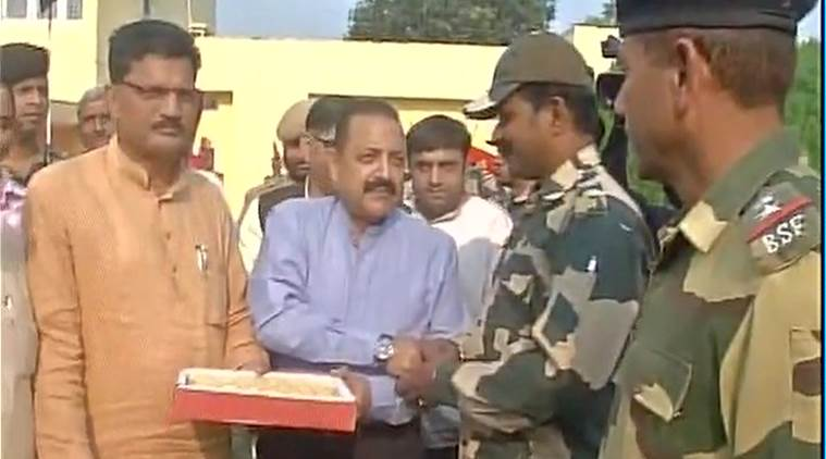 Jitendra Singh, BSF, india pakistan, india pakistan border, indo pak border, kashmir border, kashmir, kashmir loc, kashmir pakistan, india news, indian express