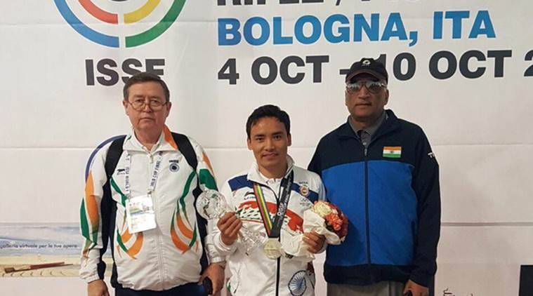Jitu Rai wins a silver in World Cup Final