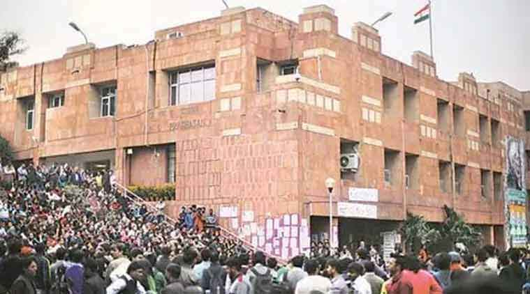 JNU, JNU students, JNU posters, JNU students protest, non availability of hostels, show cause notice, JNU show cause notice, india news, indian express