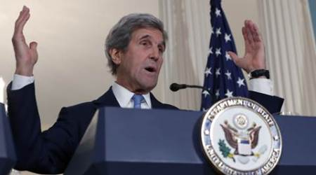 US, US Secretary of State,US secretary John Kerry, John Kerry, Kerry, THAAD, Terminal High Altitude Area Defense, THAAD anti-missile system, anti-missile system, South Korea, North Korea, N Korea, N korea nuclear tests, North korea missile launch, ballistic missile launches, world news, indian express