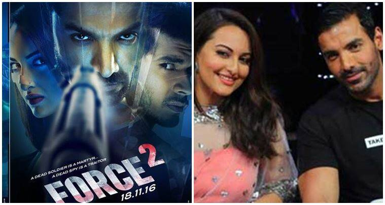 Sonakshi Sinha, John Abraham, Force 2, Force 2 action sequences, Sonakshi stunts,