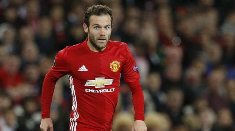 manchester united, manchester, juan mata, juan mata manchester united, permier league, football news, football, indian express