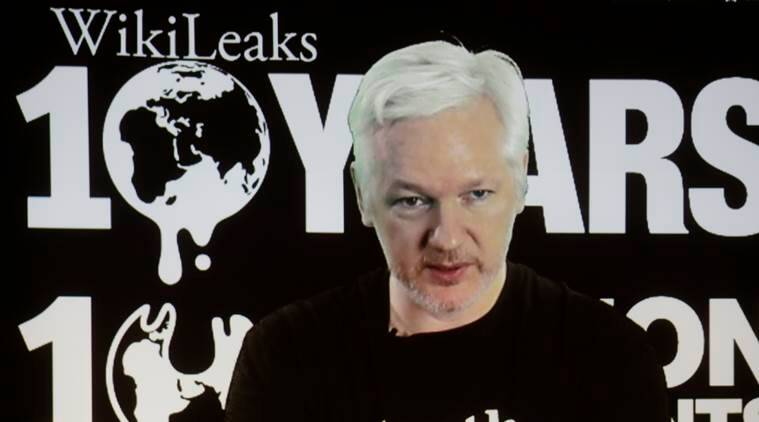 wikileaks, julian assange, ecaudor, world news, indian express,