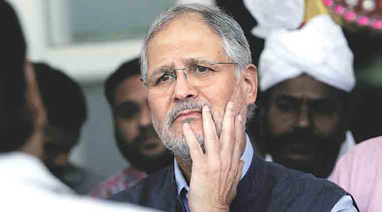 Najeeb Jung, delhi air pollution, delhi pollution, smog, delhi smog, construction norms violation, delhi construction norms violation, delhi construction norms, delhi pollution cause, delhi news. india news
