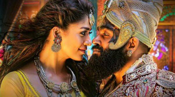 Kaashmora, starring Karthi and Nayanthara, back and forth between the present and the past.