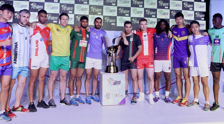 Kabaddi World Cup To Start On Friday In Ahmedabad Sports News The Indian Express