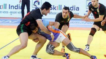 India stage second half heroics to win third Kabaddi WC
