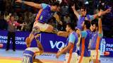 Ajay Thakur left-foot hands India Kabaddi World Cup