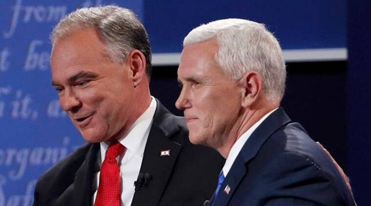 VP debate, vice presidential debate, tim kaine, mike pence, US election, US election 2016, donald trump, hillary clinton