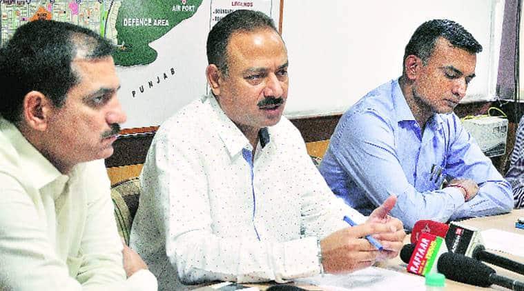 chandigarh, municipal corporation, Kajauli waterworks, punjab polls, india news, indian express