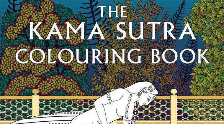 Kamasutra Kama Surta Adult Colouring Book Sutra Paintings
