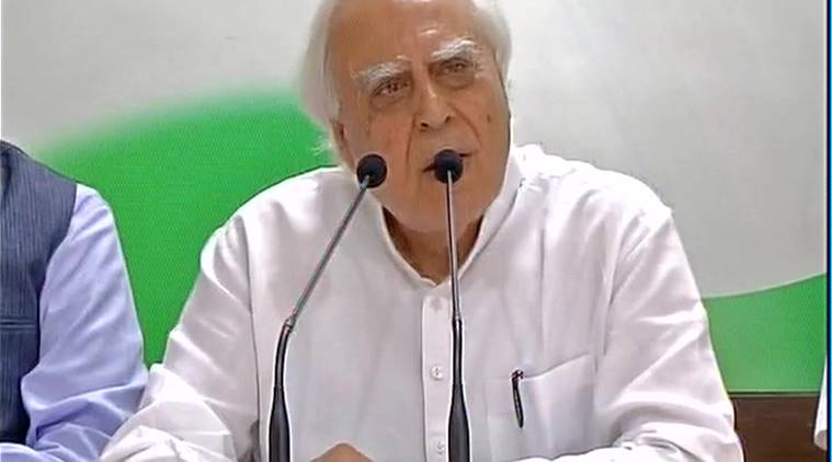 demonetisation, Kapil Sibal, India GDP, Kapil Sibal Congress, Narendra Modi, demonetisation policy, currency demonetised, currency notes, currency banned, Rs 500 note, Rs 1000 note, india news, indian express